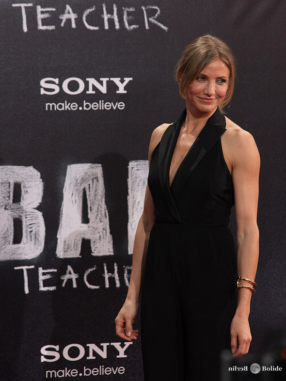 cameron diaz bad teacher shoes. Cameron Diaz in Berlin for the